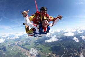 фото прыжок с парашютом фото